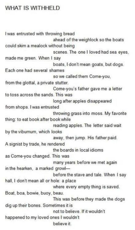 Borsuk Poem