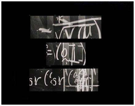 Paul Berger (U.S., born 1948). Mathematics #32 [from the Mathematics series]. 1976. Gelatin silver print on resin-coated paper. Henry Art Gallery, Monsen Study Collection of Photography, gift of Joseph and Elaine Monsen, 92.3.