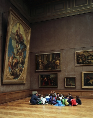 Thomas Struth. Louvre 2, Paris.